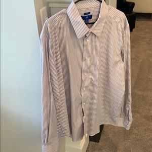 Egara XXL Slim Fit Dress Shirt